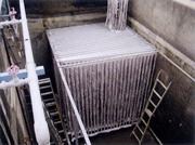 角型水槽設置例