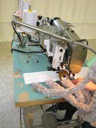 微生物増殖ロープ加工過程